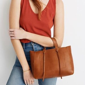 New Madewell The Elsewhere Tie Crossbody Tote